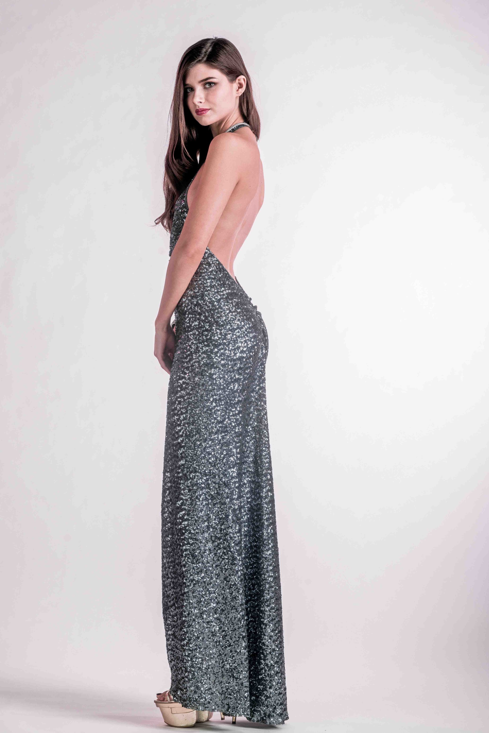 Chloe Sequin Gown